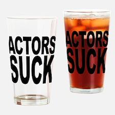 Actors Suck Pint Glass
