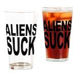Aliens Suck Pint Glass