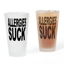 Allergies Suck Pint Glass