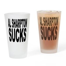 Al Sharpton Sucks Pint Glass