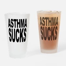 Asthma Sucks Pint Glass
