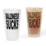 Baldness Sucks Pint Glass