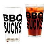 BBQ Sucks Pint Glass