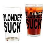 Blondes Suck Pint Glass