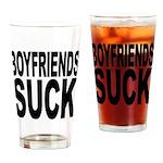 Boyfriends Suck Pint Glass