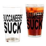 Buccaneers Suck Pint Glass