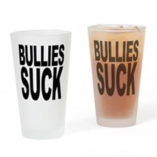 Bullies Suck Pint Glass
