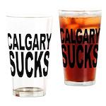 Calgary Sucks Pint Glass