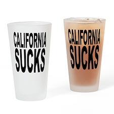 California Sucks Pint Glass