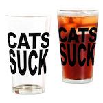 Cats Suck Pint Glass