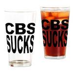 CBS Sucks Pint Glass