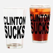 Clinton Sucks Pint Glass