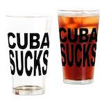 Cuba Sucks Pint Glass
