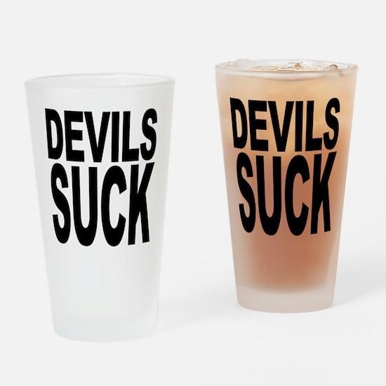 Devils Suck Pint Glass