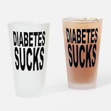 Diabetes Sucks Pint Glass