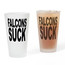 Falcons Suck Pint Glass