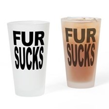 Fur Sucks Pint Glass