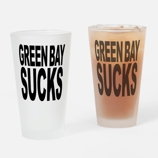 Green Bay Sucks Pint Glass