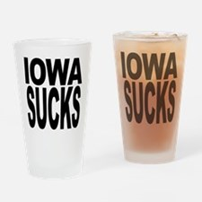 Iowa Sucks Pint Glass