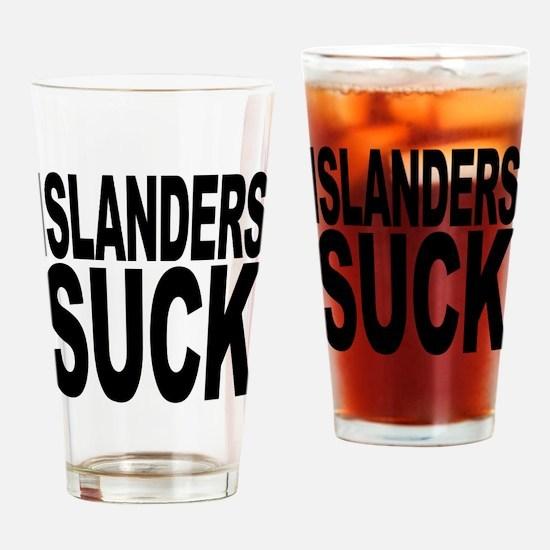 Islanders Suck Pint Glass