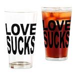 Love Sucks Pint Glass