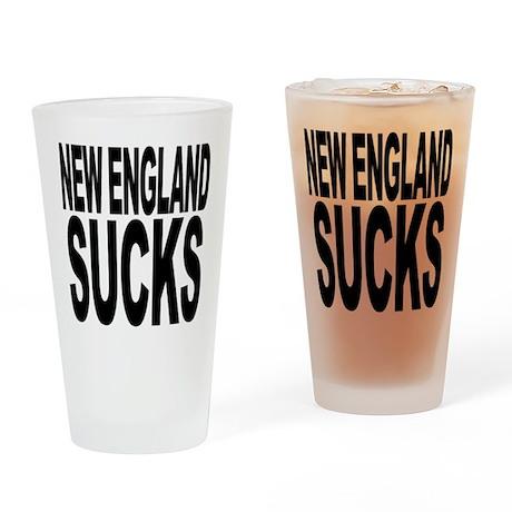 New England Sucks Pint Glass
