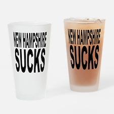 New Hampshire Sucks Pint Glass