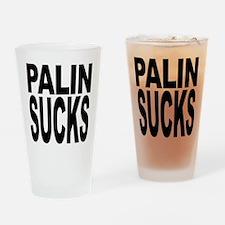 Palin Sucks Pint Glass
