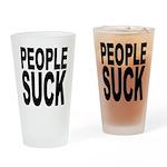 People Suck Pint Glass