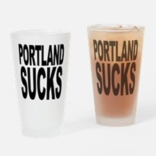 Portland Sucks Pint Glass