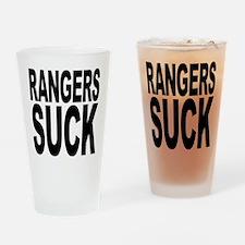 Rangers Suck Pint Glass