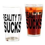 Reality TV Sucks Pint Glass