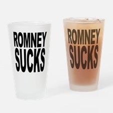 Romney Sucks Pint Glass