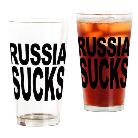 Russia Sucks Pint Glass