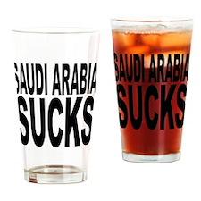 Saudi Arabia Sucks Pint Glass