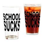 School Sucks Pint Glass