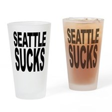 Seattle Sucks Pint Glass