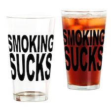 Smoking Sucks Pint Glass