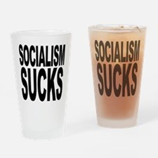 Socialism Sucks Pint Glass