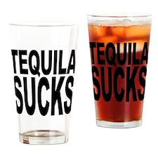 Tequila Sucks Pint Glass