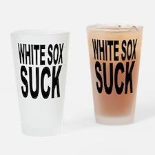 White Sox Suck Pint Glass