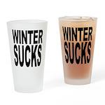 Winter Sucks Pint Glass