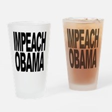 Impeach Obama Pint Glass