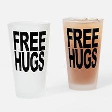 Free Hugs Pint Glass