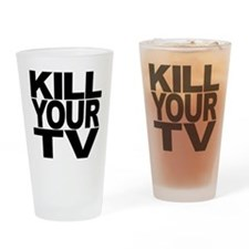 Kill Your TV Pint Glass