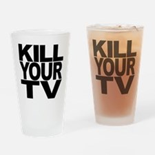 Kill Your TV Pint Glass