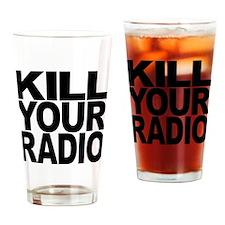 Kill Your Radio Pint Glass