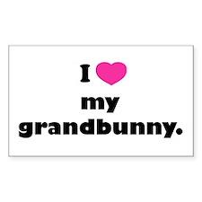 I love my grandbunny. Decal