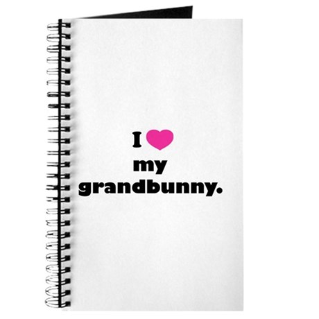 I love my grandbunny. Journal