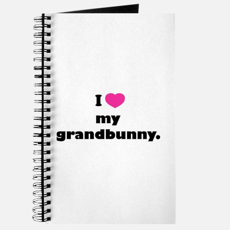 I love my grandbunny. Journal
